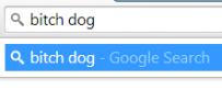bitch dog search