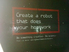 robot homework
